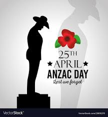 lest we forget Royalty Free Vector Image
