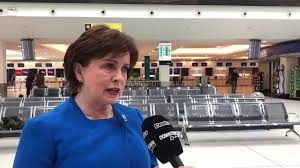 Economy Minister Diane Dodds responds to Flybe collapse - YouTube