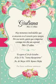 Cumple 15 Tarjetas De Invitacion Frases Para Invitaciones