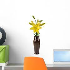 Flower Vase Wall Decal Wallmonkeys Com