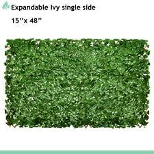 Artificial Expandable Laurel Leaves Privacy Fence Screen Windscreen Single Side For Sale Online