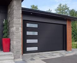 flush design from garaga garage doors