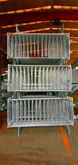 Pedestrian Barrier Crowd Control Fence Panels To Uk Bar Barrier Temporary Fencing Stanchion Galvanized Wellmade China
