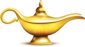 Aladdin Magic Genie Lamp Wall Decal Wallmonkeys Com