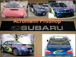 53 Windshield Decal Sticker Sunstrip Wrc For Gc8 Gdb Grb Sti Impreza Wrx S4 Vab Ebay