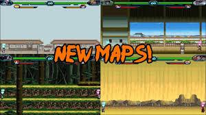 Bleach Vs Naruto 3.0 - New Maps - YouTube