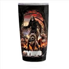 Skin Decal For Smok Mag Tfv12 Prince Tank Vape Grim Reaper Pitbull Skulls For Sale Online Ebay