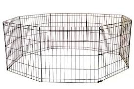 New 24 30 36 48 In Dog Fence Kennel Dog Play Pen Crate Fence 8 Panel Uncle Wiener S Wholesale