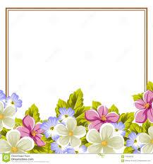 Capitulo De Algunas Flores Para El Diseno De Tarjetas