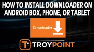 How to Install Downloader on Android TV Box, Phone, & Tablet - YouTube