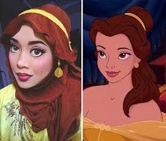 photos makeup artist uses her hijab to