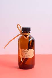 extrait de vanille fait maison joli