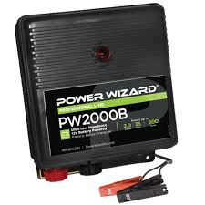 Power Wizard 12v Battery Fence Charger 2 0 Joules Ramm Horse Fencing Stalls