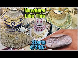 artificial jewellery whole market