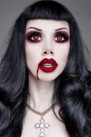 makeup ideas for gothic vires