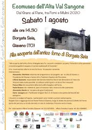 Locandina Borgata Seia 1 agosto 2020