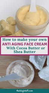 homemade anti aging face cream recipe