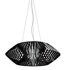 v geometric pendant light 80cm black