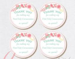 favor tags first communion