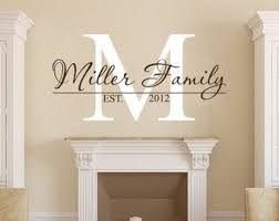 Custom Wall Decals Etsy In Decors