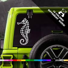 50 Off Sea Horse Car Vinyl Decal Hippocampus Window Or Etsy