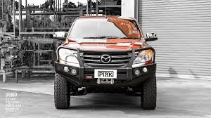 PIAK Post Type Premium Bullbar - Mazda BT50 (09/11 On)
