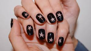 black nail polish is back check out