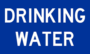 5in X 3in Drinking Water Decal Vinyl Decals Stickers Sign Safety Sticker Stickertalk