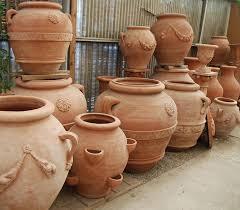 classic italian terra cotta pottery