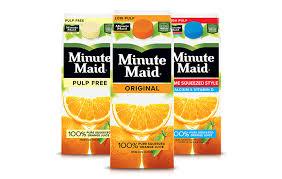 minute maid juice and juice drinks