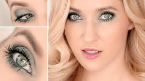 best makeup for green grey eyes