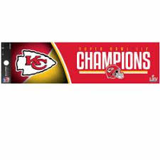 Kansas City Chiefs Stickers Decals Bumper Stickers