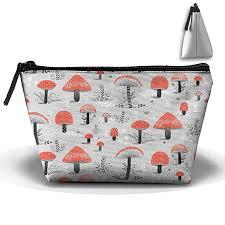 storage bags red mushroom seamless