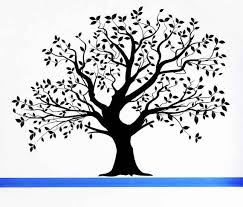 Large Realistic Tree Leaves Summer Fall Spring Decal Sticker Vinyl Wall Home Office Holida Family Tree Drawing Family Tree Artwork Tree Wall Decal