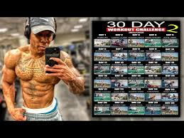 30 day at home workout plan no