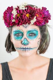 dead makeup and diy fl crowns