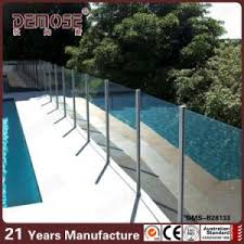 China Waterproof Sus316 Posts Clear Glass Fencing For Pool Dms B28133 China Glass Fencing Tempered Glass Pool Fence Panels