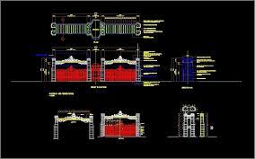 Gateway Dwg Detail For Autocad Designs Cad