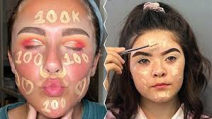 top trending makeup videos on insram