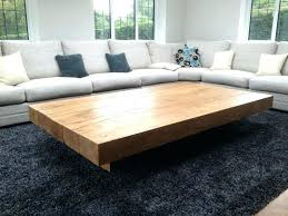 solid oak wood coffee tables