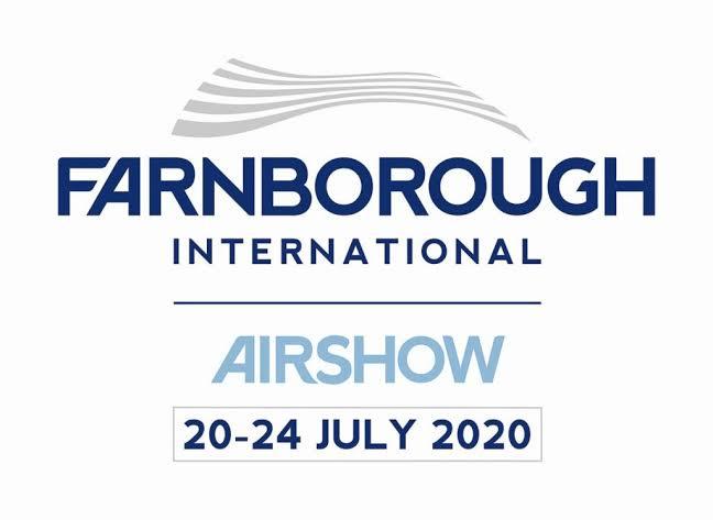 Resultado de imagen para farnborought 2020 logo