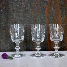 crystal cordial glasses on wanelo
