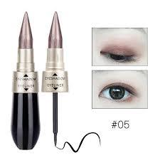 shimmer eye shadow black eyeliner stick