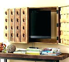 tv creative ways to hide cords