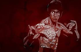 wallpaper typography bruce lee be