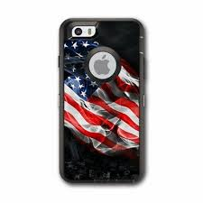 Skin Decal For Otterbox Defender Iphone 7 Plus Case Usa Bald Eagle In Flag Jolash Pl