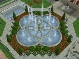 gorgeous fountains sims 2 foto