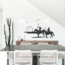 American Indian Old West Wall Decal