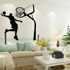 Removable Basketball Dunk Sport Diy Wall Sticker Kids Room Art Decor Decals Alexnld Com