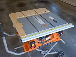 Ridgid R4510 Table Saw Extension Designed By Stonehavenlife Com Table Saw Extension Portable Table Saw Table Saw Fence